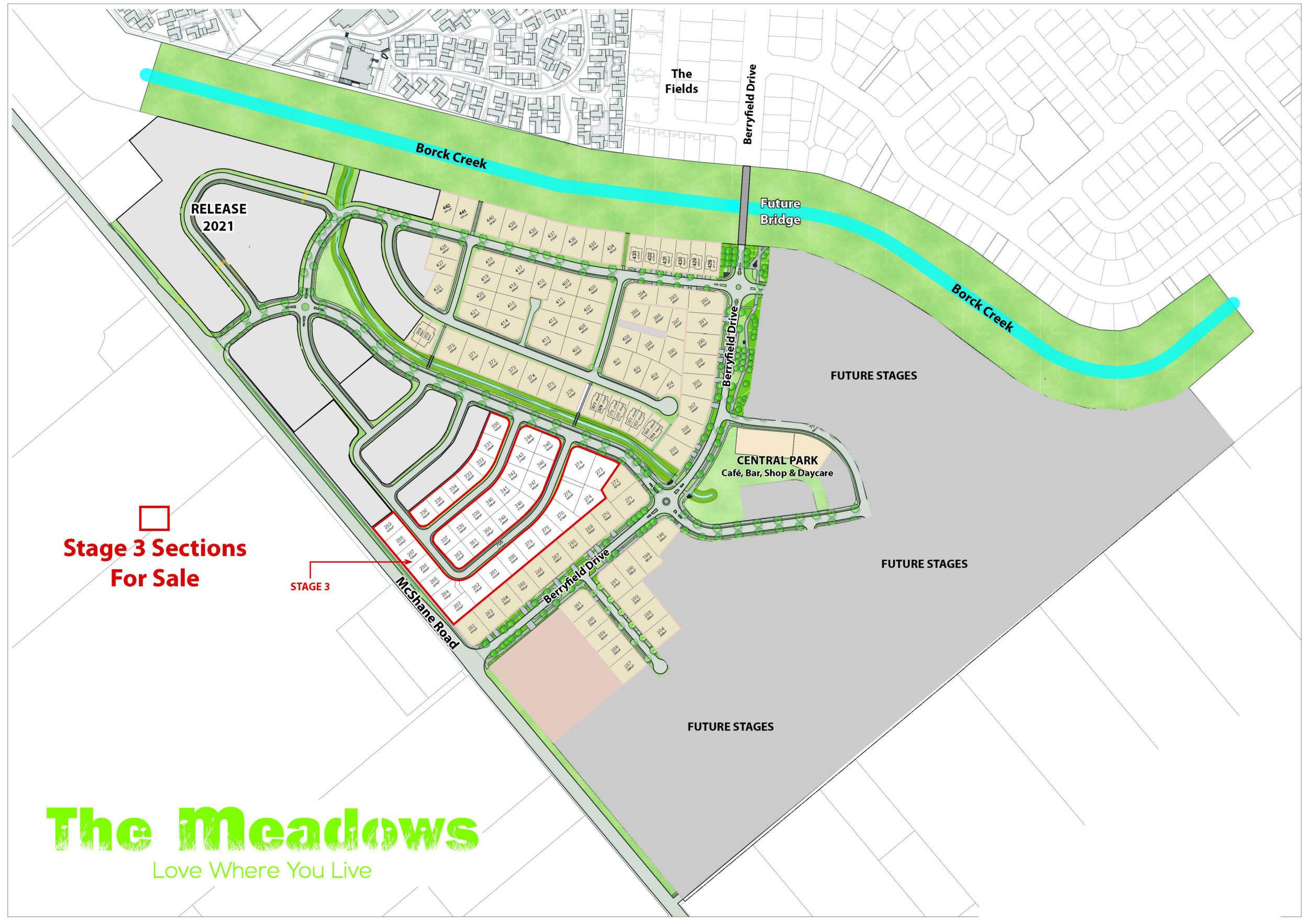 Master Plan Stage 3 The Meadows