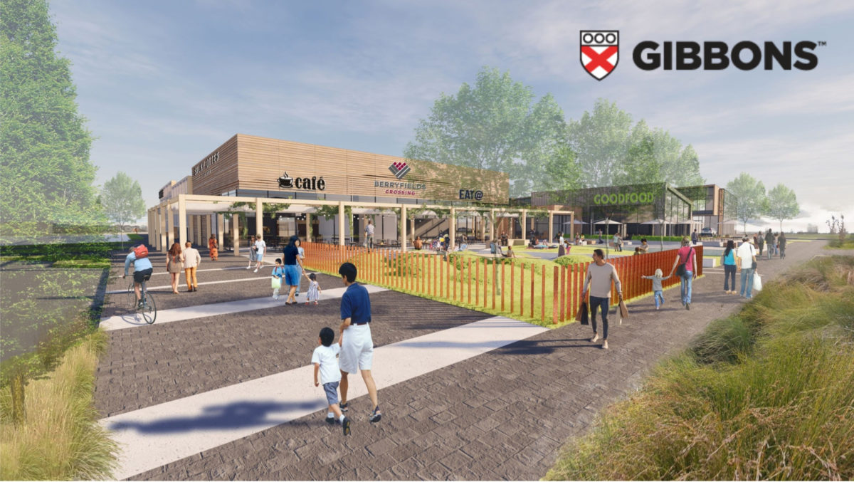 Gibbons Have Launched Their Berryfields Crossing Website